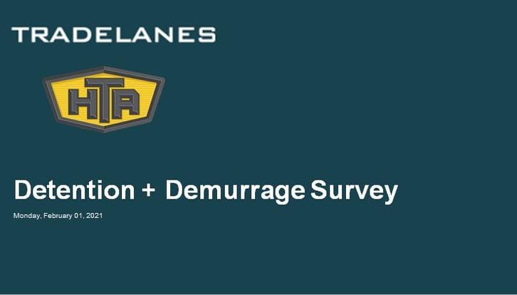 Detention & Demurrage Survey